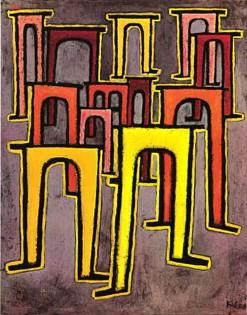 Viaducts Break Ranks by Paul Klee