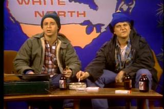 Hey, M, Bob thinks you're a hoser.