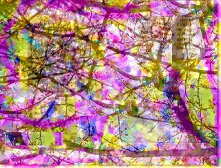 garden abstract art