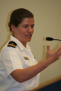 UU Navy Chaplain panelist Cynthia Kane