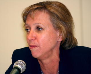 DoD civilian panelist Leana Bresnahan