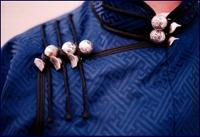 Traditional Mongolian Deel - buttons