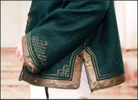 Traditional Horseman's jacket - detail