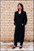 Woman's three-piece business suit