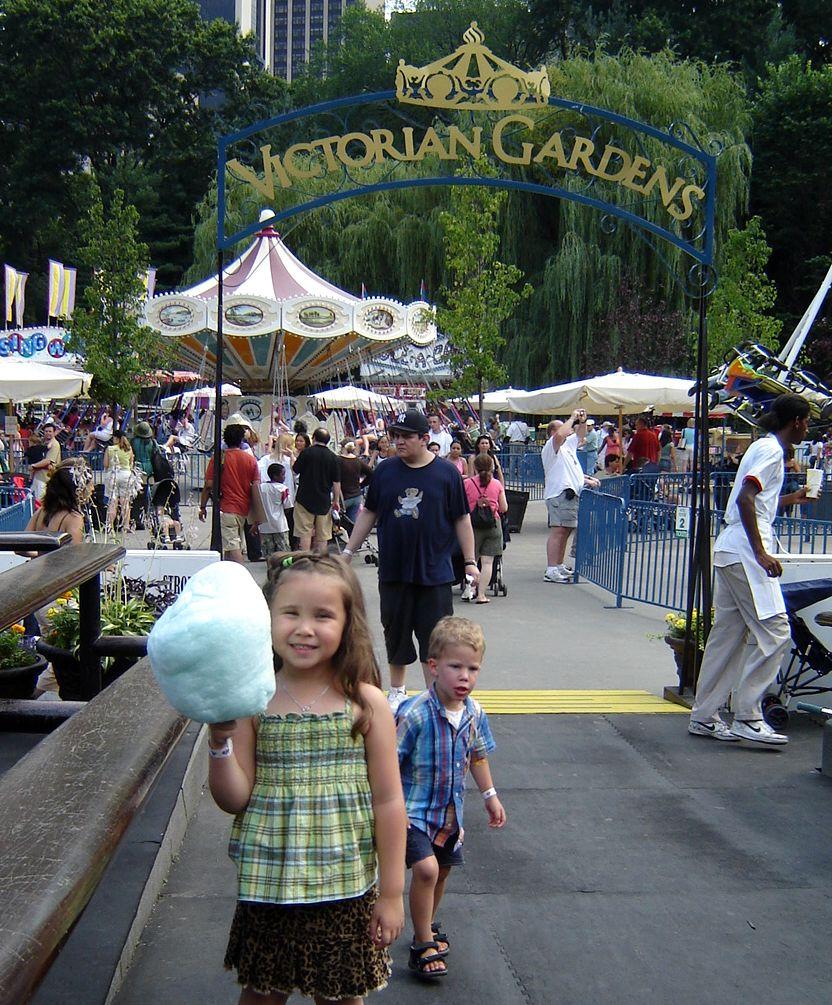 Steytsayd Ilongga Kiddie Treat Victorian Gardens At Central Park