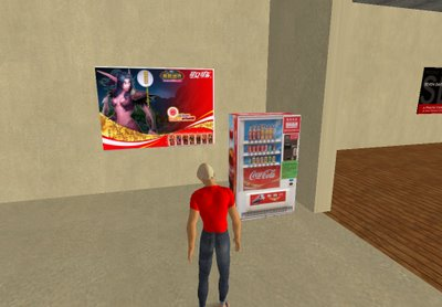 Pubblicità Coca-Cola in SL
