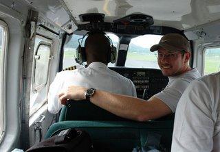 in a very little plane