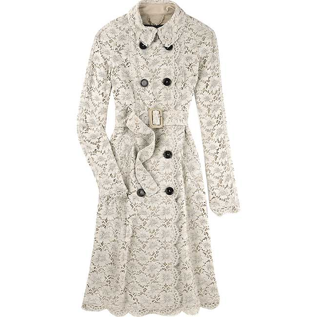 My Sewing And Knittantics Burberry Lace Trenchcoat Tdf