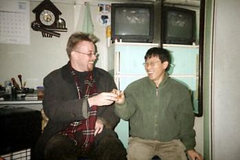 AL and Mr Pak