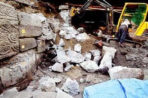 Unearthed Chosôn era structures (c) Hankyoreh