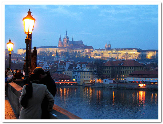 Prague castle (courtesy Ohmynews)