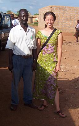 White women in ghana
