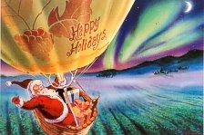 balloon holiday card