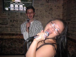 Karaoke 3 weeks in a row, now that's a party!