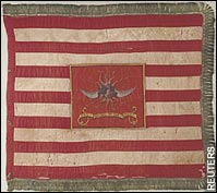 col sheldon's dragoon flag