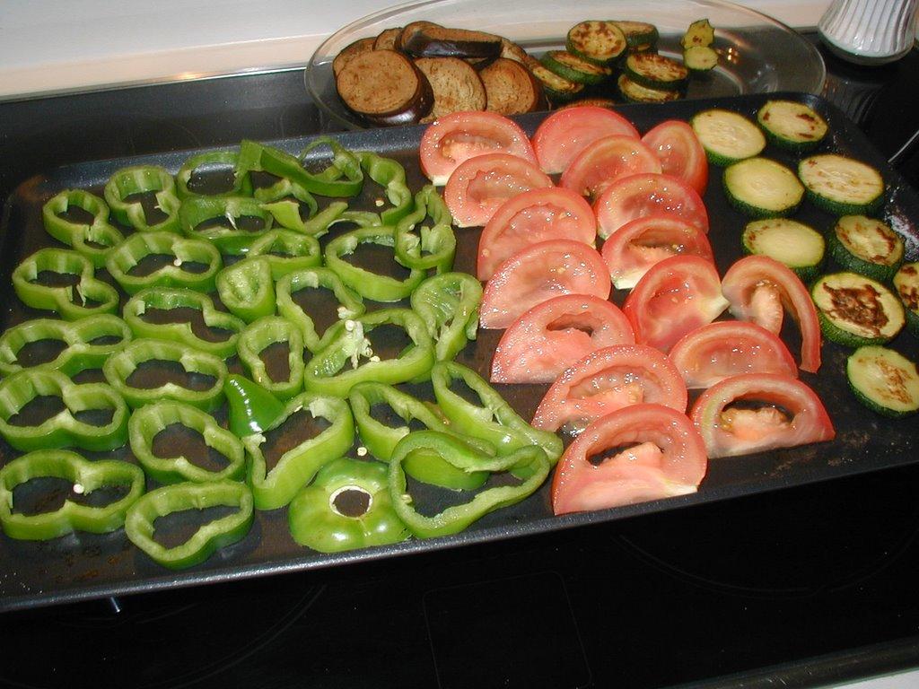 Recordando recetas alcachofas a la plancha con panach de for Que cuisiner a la plancha