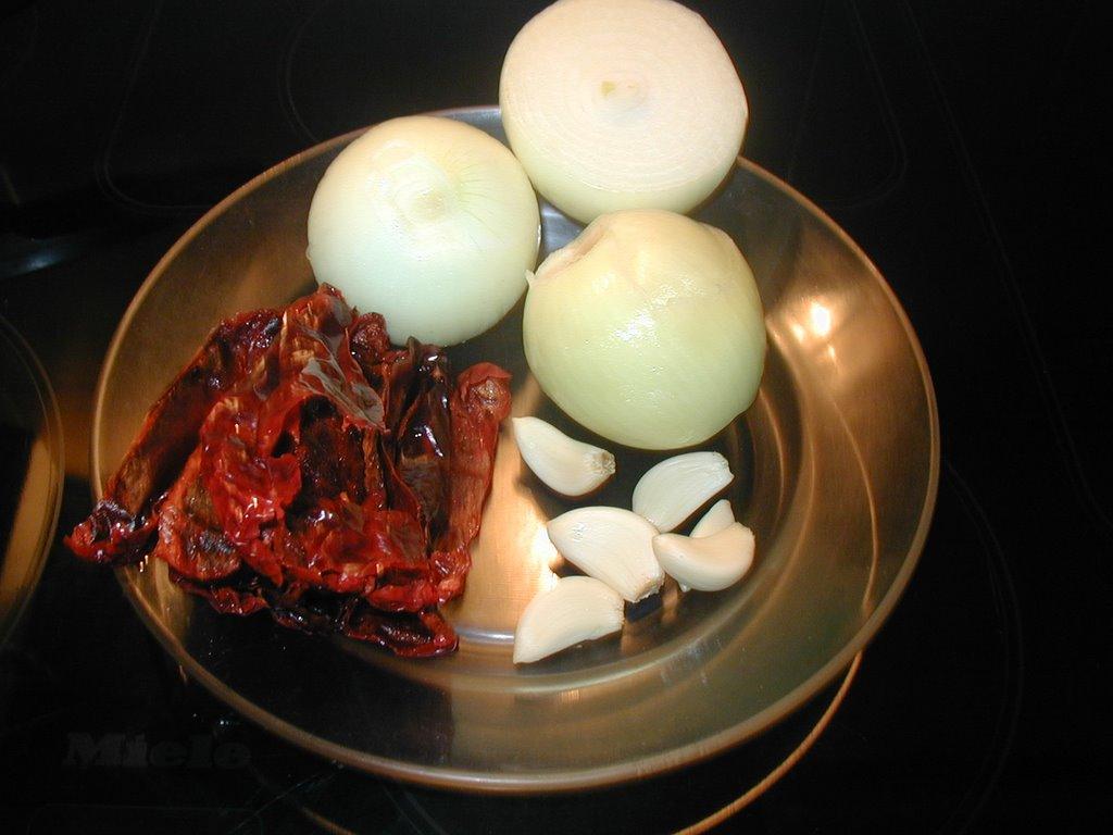 Bacalao en salsa semi vizcaina con langostinos | La Cocina Paso a Paso