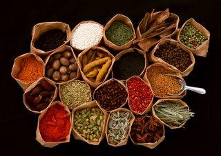 Mil especias para el curry!!