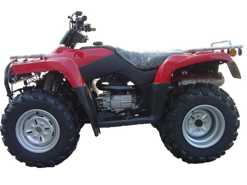 Side By Side Atv >> Bu Bu Buddies: 400cc 4 Wheel Drive ATV