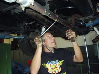 Chevy 57 neue Federn