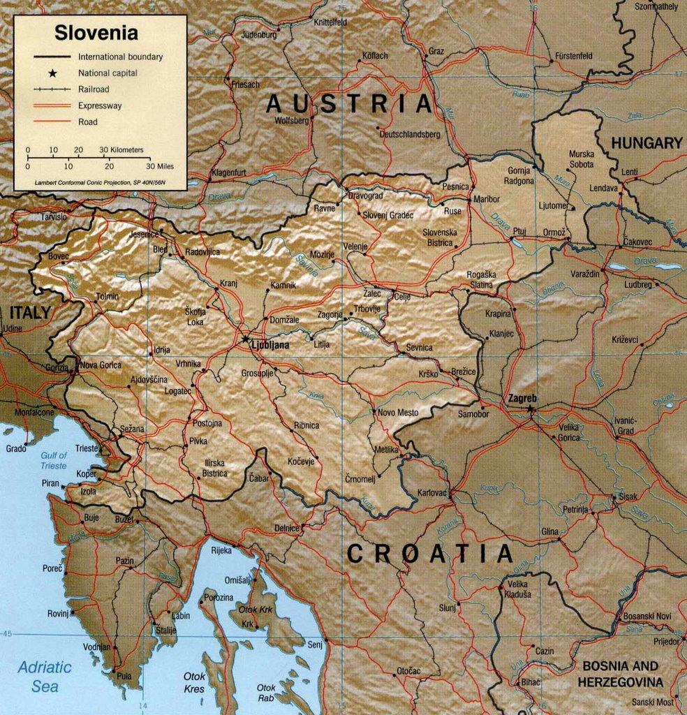 SLOVENIAN PRIDESLOVENSKI PONOS June - Where is slovenia