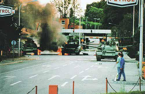 SLOVENIAN WAR FOR INDIPENDENCE 1991. Following the death of Yugoslav president Josip Broz Tito in 1980, underlying ethnic, religious, and economic tensions ...
