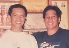 Master Palazuelo with GM Presas