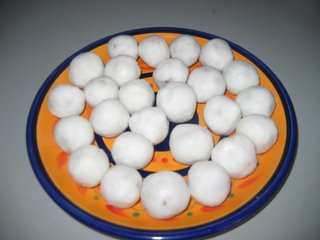 Kozhakattai is made with coconut and jaggery