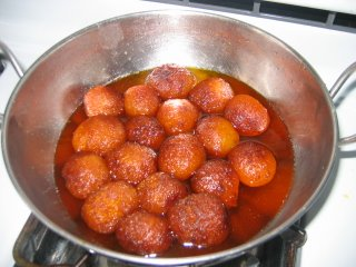 Gulab Jamun is with maida and sugar