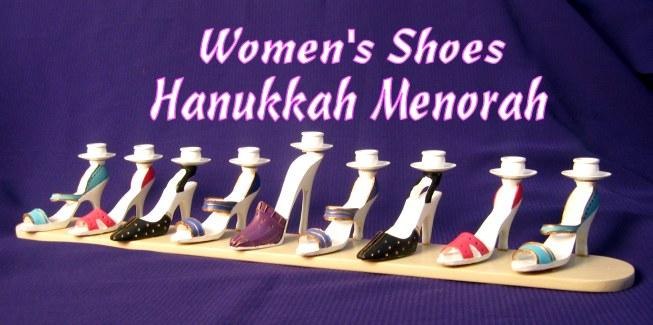 High Heel Shoe Menorah