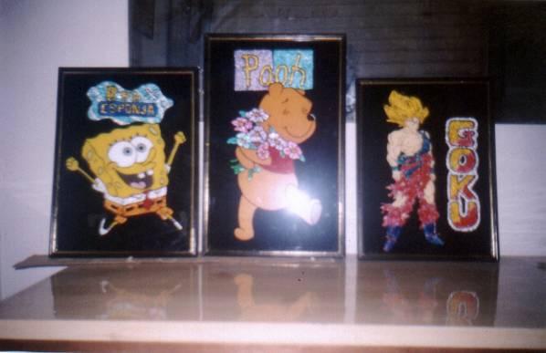 Pinturas en vidrio - Vidrio plastico para cuadros ...