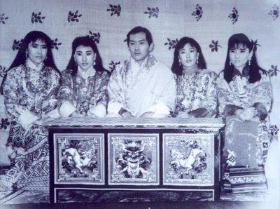 le roi et ses quatre épouses