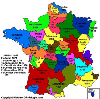 Découpage 1789