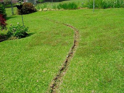 how to build a swale for drainage