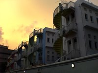 Bugis Village | Back Alley In The Evening