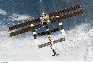 International Space Station. Photo courtesy of NASA