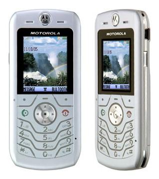 Motorola SLVR L6 Camera Phone