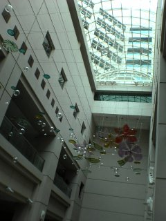 Tan Tock Seng Hospital Atrium