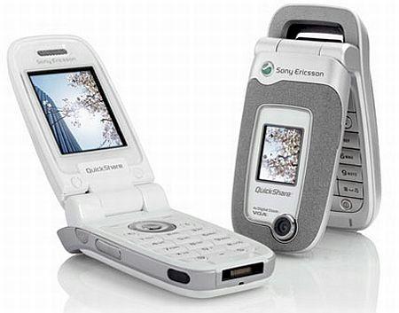 Sony Erricson Z520i Quad Band MP3 Camera Phone