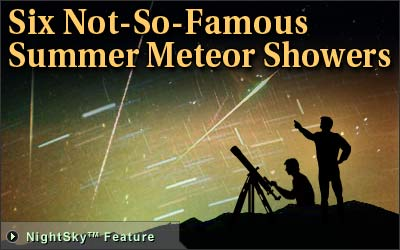 Space.com July to August Meteors Watch