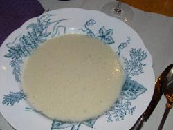 Svartrotssoppa, porslin vineta