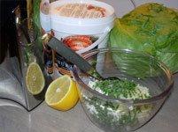 Ingredienser och vår underbara juicemaskin