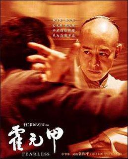 Jet Li's Fearless Film Poster