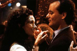 Bill Murray and Andie Mcdowell in Groundhog Day
