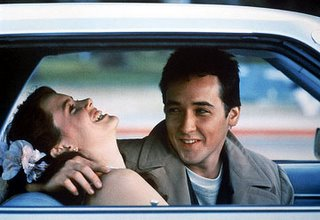 Ione Sky and John Cusack in Say Anything
