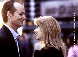 Bill Murray and Scarlett Johannson in Lost In Translation