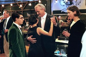 Jason Schwartzman, Bill Murray, Olivia Williams and Sara Tanaka in Rushmore