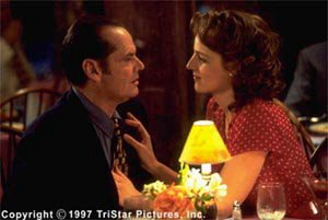 Jack Nicholson and Helen Hunt in As Good As It Gets
