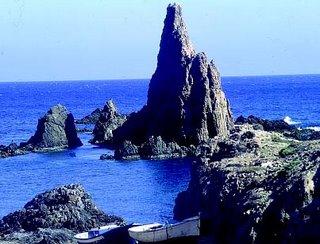 Las rocosas playas de Almeria