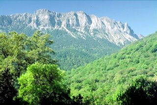 Sierra de Grazalema en la provincia andaluza de Cádiz